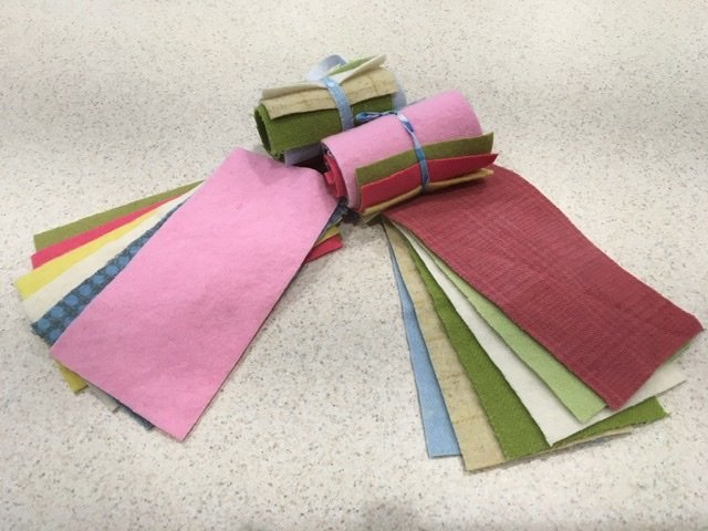 Wool 4x8 - Pastel Roll Up