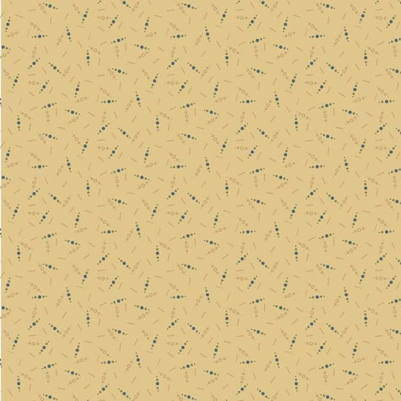 Country Meadow-Country Dots - Tan 1711