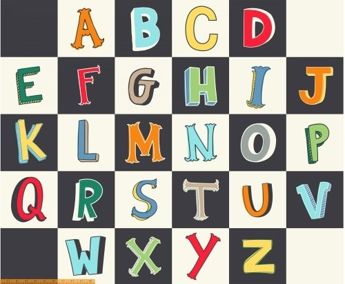 A to Zoo - Alphabet Blocks Panel