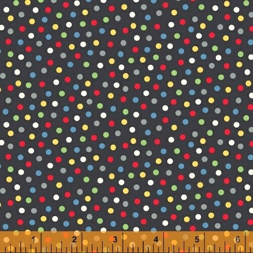 A to Zoo - Dots - Black