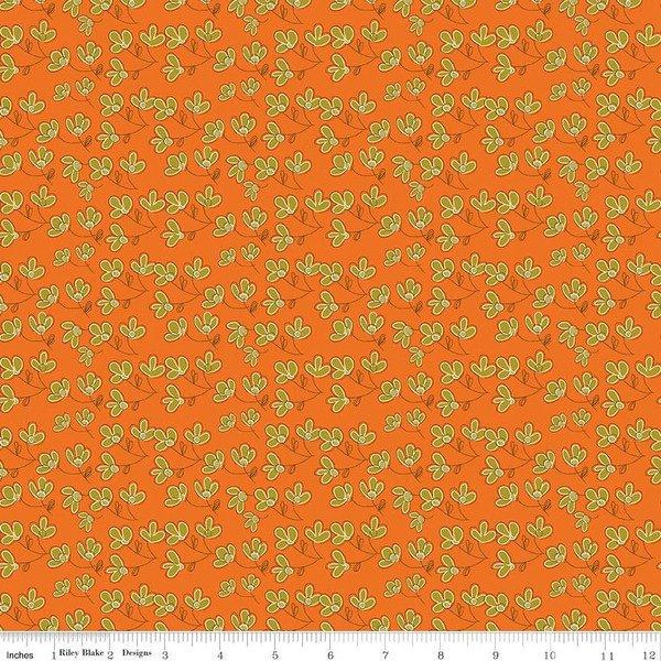 Give Thanks C9523 Blossoms Orange