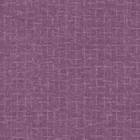 Woolies - 18510 V Orchid Crosshatch