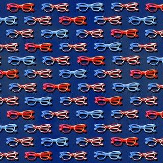 Star Spangled Summer - Navy Eye Glasses
