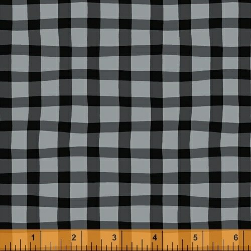 A to Zoo - Loose Gingham - Black