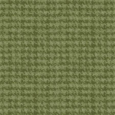 Woolies - 18503 G3 Lt Green Houndstooth