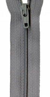 22 inch Zipper - 708 Grey Kitty