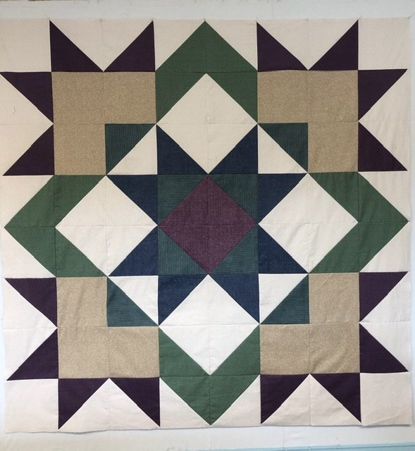 Winter Solstice Quilt Kit (Primitive Quilts)