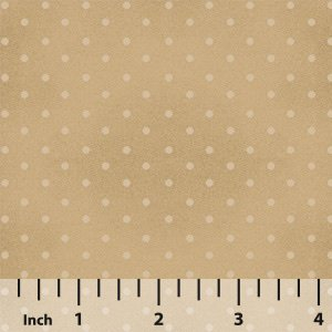 Wide Back Buggy Basic (108) Tan Dot