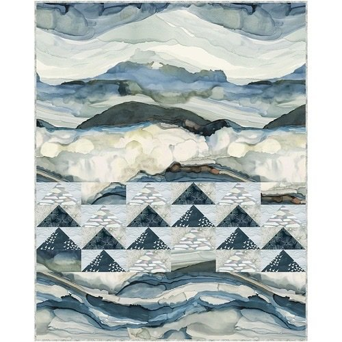 Time and TIde Wave Quilt Kit