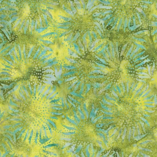 Hoffman Batiks - 884 499 Chartreuse