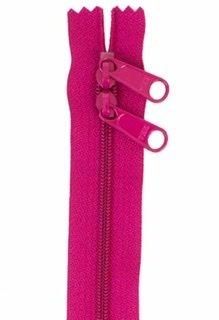 30 inch Zipper - Dbl Slide 255 Crazy Plum