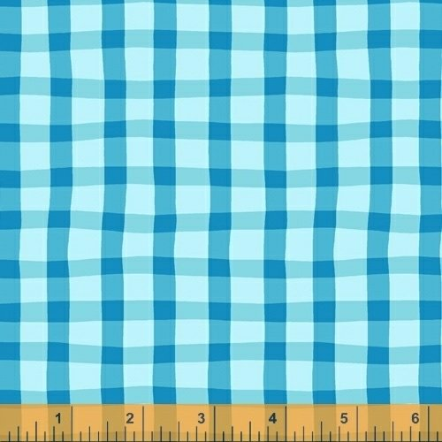 A to Zoo - Loose Gingham - Lt Blue
