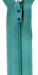 22 inch Zipper - 752 Tahiti teal