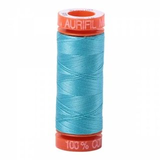 Small Aurifil - 5005 Bright Turquoise
