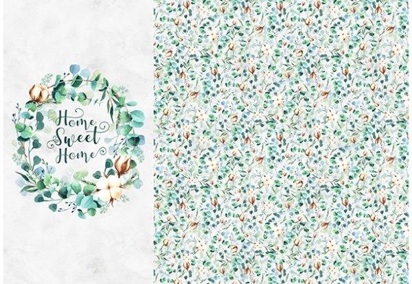 Celebrate The Seasons-Eucalyptus Panel(43 x 63)