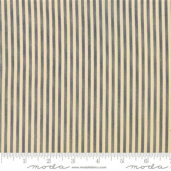 Star Stripe Gatherings - 1269-14 Tan/Blue