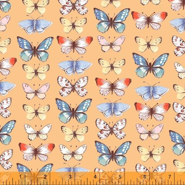 Farm Meadow - Butterflies Wheat