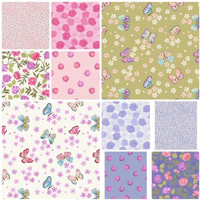 Love Blooms - 10 FQ Bundle