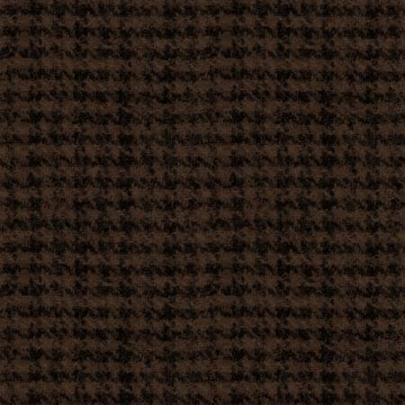 Woolies - 18503 JA Espresso Houndstooth