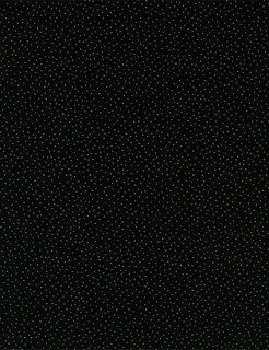 Holiday Metallic Pin Dots -Black