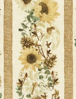 Harvest Metallic - CM7693 Sunflower Stripe