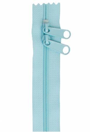 30 inch Zipper - Dbl Slide 213 Robin Egg Blue