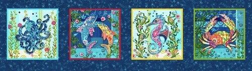 Blooming Ocean - Panel (12 x 44)