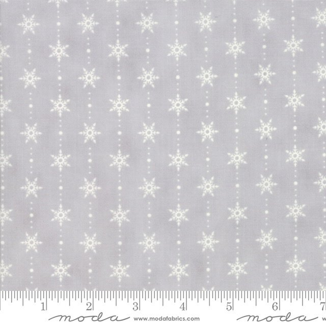 Homegrown Holiday - Snowflake - Silo Grey