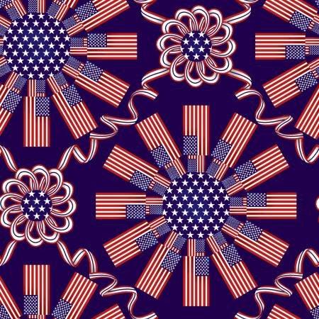 American Style - 5490-78 Patriotic Medallion