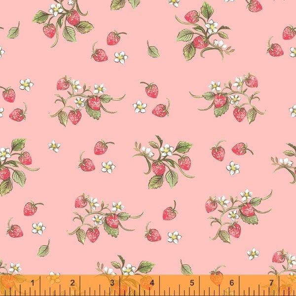 Farm Meadow - Strawberries Pink