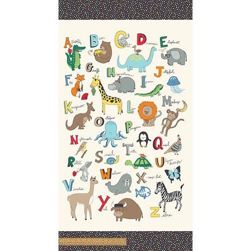 A to Zoo - Animal ABC Panel