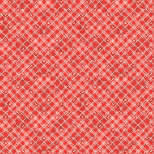 From the Heart - Plaid Red C10056R