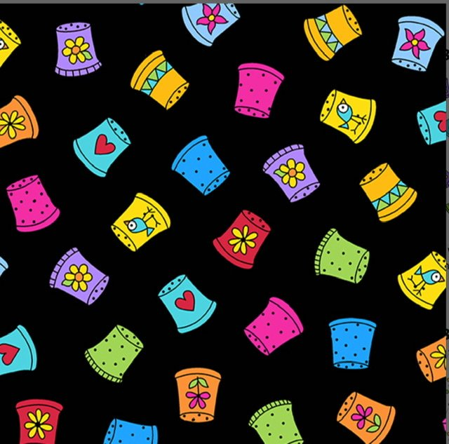 Sew Happy A-9868-K Thimble Collection (black)