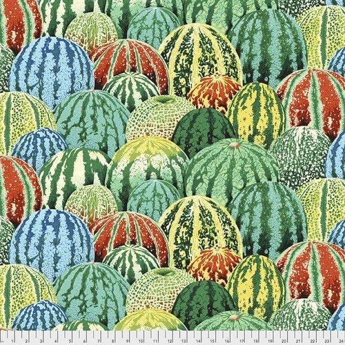 Kaffe Watermelons  - PWPJ103 Green