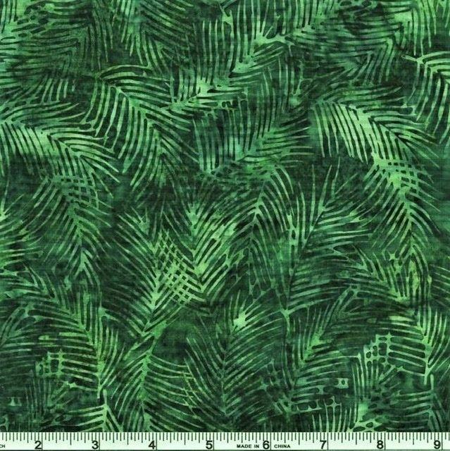 Hoffman Batiks - 2255 189 Xmas Green