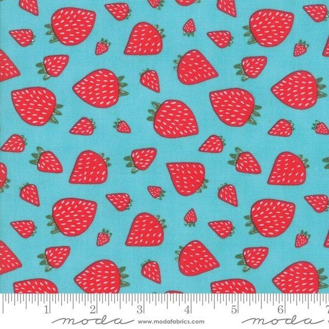 Farm Fresh - 48263-20 Aqua Strawberries