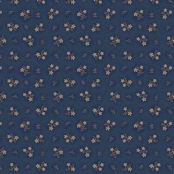 Country Meadow-Sweet Flower - Blue 1714