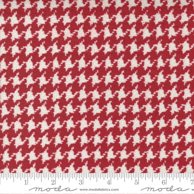 YG -Houndstooth - Red 49143 12F