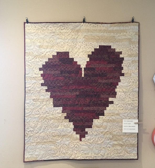 Have A Heart Quilt Kit (small)