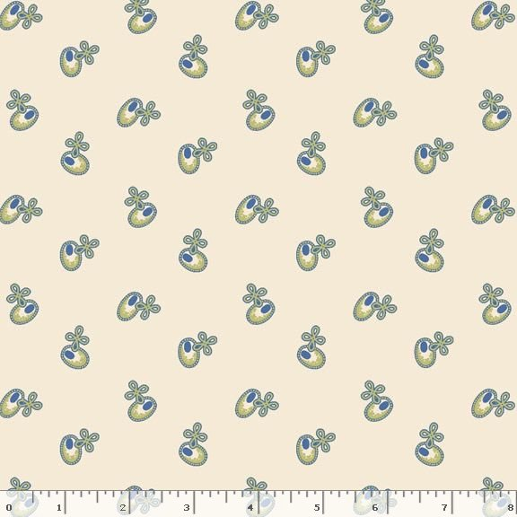 Yellow Sky-Buttons - Ivory 2133
