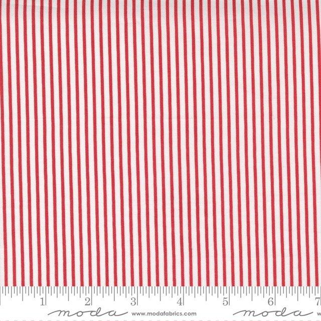 Christmas Morn Stripe Cranberry 5148 16