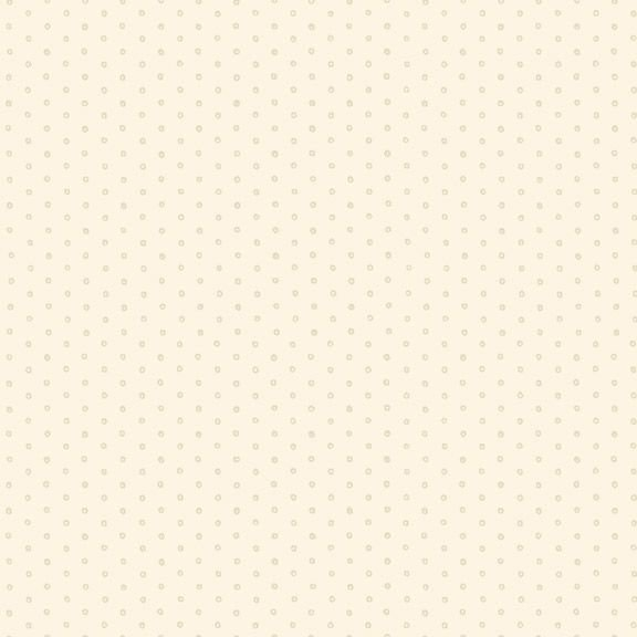 Yellow Sky-Circle Dot - Cream 2131