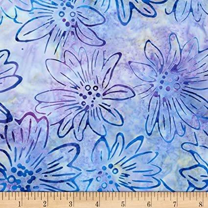 Bright Blooms Batiks - Lavender