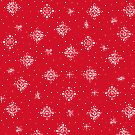 Back Home - Snowflakes Red