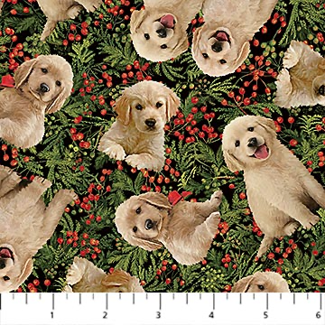 Santa's Helpers - Labrador Toss