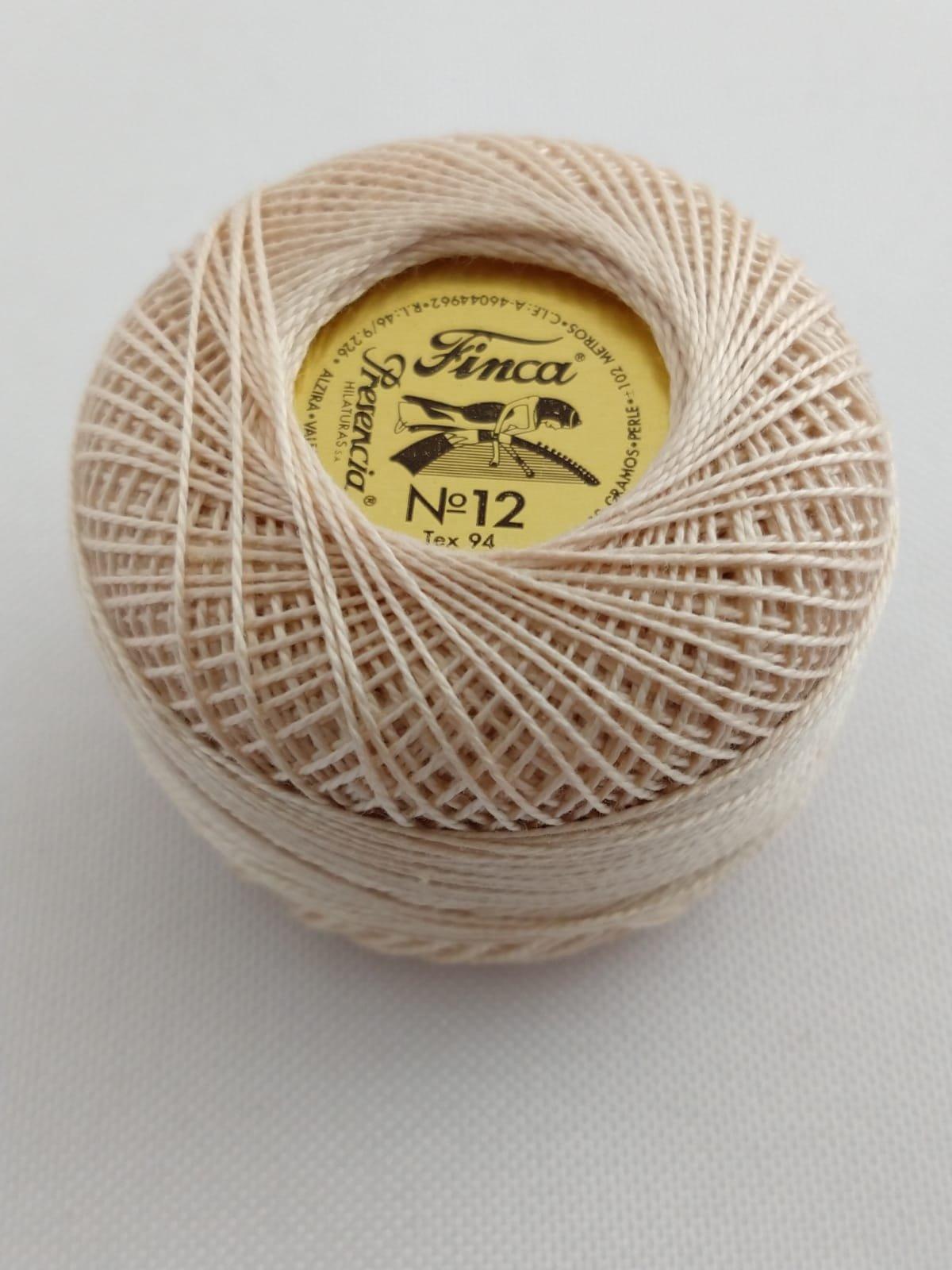 Finca Perle Cotton  Sz 12 - #7933 Light Dessert Sand