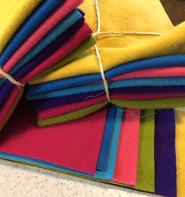 Wool 14x16 - Bright Bundle
