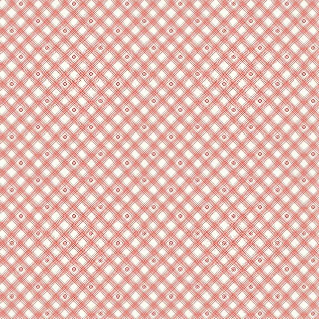 From the Heart - Plaid Cream C10056R
