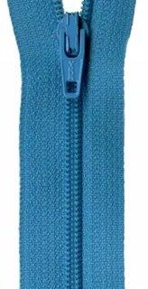 22 inch Zipper - 753 Turquoise Splash