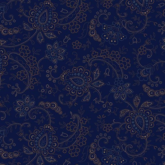 Country Meadow-Meadow Ridge - Navy 1708